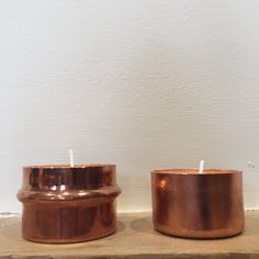 Candle holders by NOUIstudio on Etsy