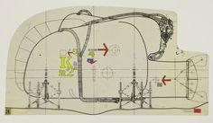 DIBUJAR ARQUITECTURAS / Secciones Horizontales- Secciones Verticales & Collages | dibujoetsamadrid