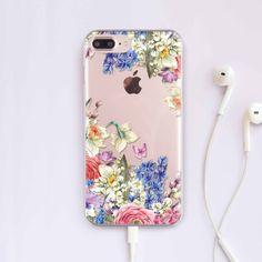 Floral Case Phone 7 Case iPhone 6 Case Flower Samsung S7 Case