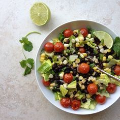Simple, everyday food that is healthy and delicious! Sweet roasted corn, juicy tomatoes bursting with flavor and black beans all together making this a great summery salad. I also added some avocado as an after thought, so be sure to add some of that if you like…it was so good. This would also be great...Read More »