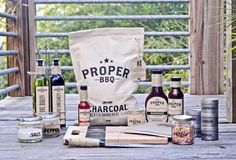 Proper BBQ is the Perfect Barbecue Product for any Grillmaster #kitchen trendhunter.com