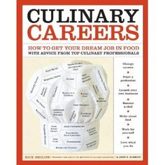 Culinary Careers: How to Get Your Dream Job in Food, with Advice from Top Culinary Professionals (Clarkson Potter)  is now out! This book is the culmination of nearly two years of work, from propos...