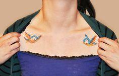 Blue birds tattoo