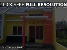 warna cat rumah minimalis merah outdoor indoor024