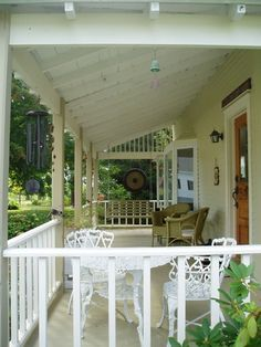 """(view from front porch) """"bay window"""" for cat room, create """"cat seats"""" in several spots of the window."""
