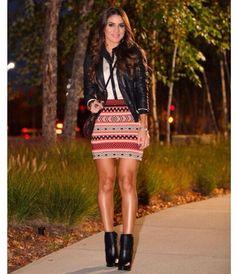 Outfit by Camila Coelho ... So Fall!