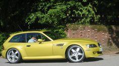 BMW Z3 Coupe - Yellow Car