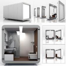 Box: Baño modular prefabricado. Diseñado por Yonoh y fabricado por Roca