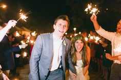 sparkler exit | Jess Barfield #wedding