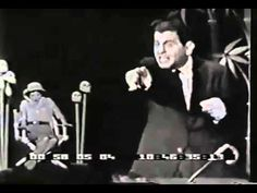 David Seville singing The Witch Doctor on the Ed Sullivan Show. The special effects were pretty new at the time, but they got lazy near the end.