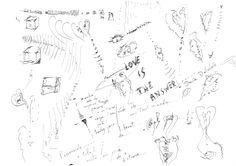 DARTGR0415048 #Eye #LoveIsTheAnswer #Black #love #Minimal #DanielaDallavalle #Grafismi #loveistheanswer #ink #sketches #art