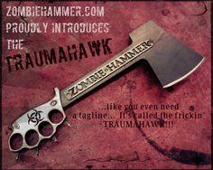 "Zombie Hammer ""Traumahawk""  ***FREE SHIPPING***"