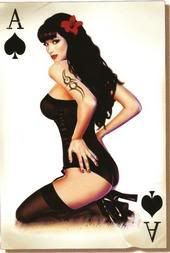 Lethal Threat Ace of Spades Pin Up Girl Decal Pin Up Girls, Pin Up Fotografie, Modelos Pin Up, Hard Hat Stickers, Bumper Stickers, Pin Up Poses, Ace Of Spades, Rockabilly Pin Up, Pin Up Photography