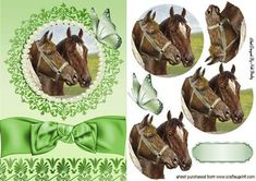 BEAUTIFUL VINTAGE HORSE IN ORNATE FRAME on Craftsuprint - Add To Basket!