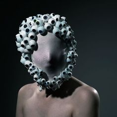 "Looking for some really strange costume ideas? Check out this ""Costume Art"" created by Philip Toledano. Sculpture, Art Plastique, Headgear, Headdress, Costume Design, Masquerade, Wearable Art, Fashion Art, Ideias Fashion"