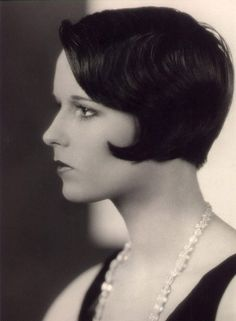 Louise Brooks this is pretty much the inspiration for my latest hair style