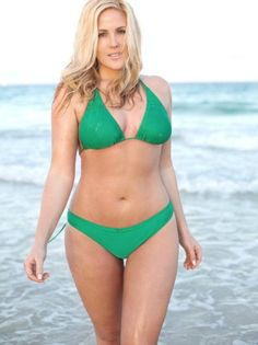 """Nicole Lebris - She is called a """"plus size model"""".  I am SORRY the only plus thing I see about her is her boobs, because she has them. Other than that, she is absolutely perfect, and a good representation of what girls like me should look up to!"""