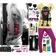 """Scene?"" by cunttastic on Polyvore"
