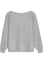 Vanessa BrunoChunky-knit ribbed merino wool sweater