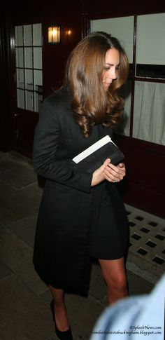 Kate Wears Gorgeous Velvet Coat to Festival of Remembrance
