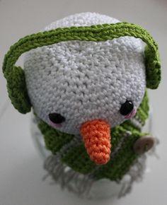 Dekselse Potjes Winter Wonderland, Hello Kitty, Crochet Patterns, Crochet Hats, Beanie, Crafts, Marshmallows, Crocheting, Cupcake