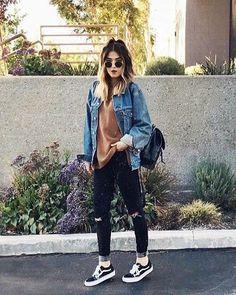 Aprende a sacarle el mayor estilo a tus #JeansRasgados con estos outfits.