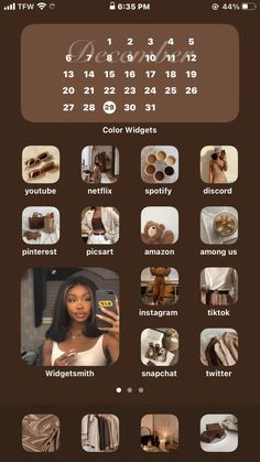 ios 14 1/3🤎 in 2021   Ios app iphone, Iphone app layout, Iphone photo app