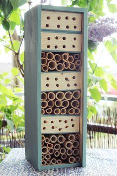 DIY Bienenhotel - Nisthilfe
