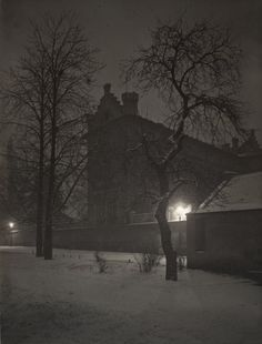 Josef Sudek - Prague at Night ,1954-1974