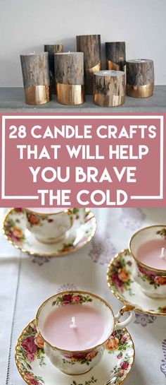 28 Adorable Candle Crafts That Will Help You Brave The Cold