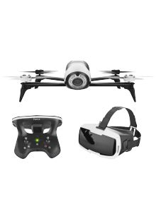 PARROT BEBOP 2 FPV Drone Blanc + Lunettes FPV (PF726203AA)