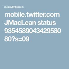 mobile.twitter.com JMacLean status 935458904342958080?s=09
