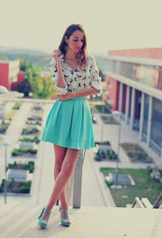 blouse and turquoise skirt bmodish 20 ways to style a blouse with a skirt