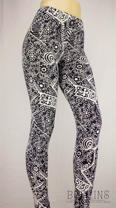 Shop Now - Women - Buskins Flower Doodles, Doodle Flowers, Buskins Leggings, Printed Yoga Pants, Yoga Capris, Yoga Bra, Shop Now, Boutique, My Style