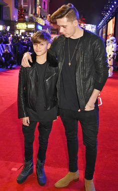 Romeo Beckham & Brooklyn Beckham from The Big Picture: Today's Hot Pics The force is with these two! The brothers attend the London premiere of Star Wars: The Force Awakens.