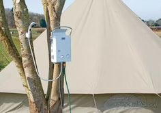 Portable Gas Powered Shower