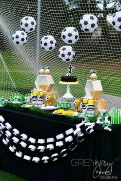 Lovely soccer party!