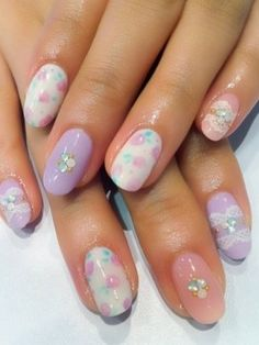 Trendy Nail Art Ideas for Spring - A flawless and colorful manicure is the ultimate statement accessory of the moment. See these trendy nail art ideas for spring and start your seasonal makeover right now!