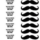 A great idea for a mustache themed classroom or just a fun way to get the year started.  This template has a mustache on one side and a cute phrase...