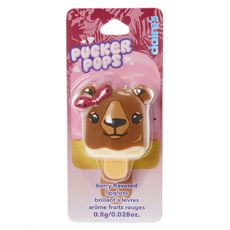 Purple Bow Bear Pucker Pops