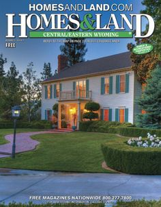 Browse homes for sale and more in the latest digital issue of Homes & Land of Central/Eastern, Wyoming #homesandlandmagazine #realestate