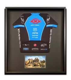 Is there a special cyclist in your life? If so, this is the gift for them - have one of their jerseys custom framed with a team photo. All that hard work should be commemorated in a beautiful piece of customized art! Visit your local custom framer for ideas, specific to the cyclist you're creating this one-of-a-kind work of art for…