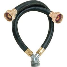 Eastman Washing Machine 'Y' Mixer Hose Washing Machine Hose, Black Rubber, Garden Hose, Washer And Dryer, Mixer, Home Improvement, Faucets, Cold, Ebay