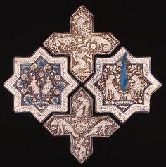 Star and cross tiles. Clockwise form left G.232.1; G.230; G.231.2; G.231