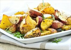 Healthy Potato Recipes Side Dishes | Healthy Side Dish Recipe: Baby Roasted Herbed Potatoes | Healthy Food