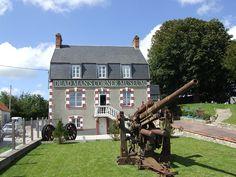 Dead Man's Corner Museum, outside Carentan, France
