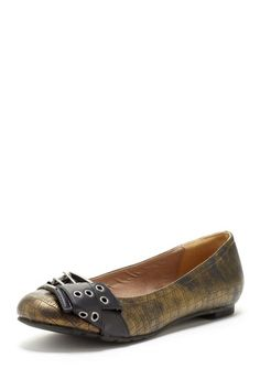 Coconuts by Matisse Amalie Ballet flat in olive