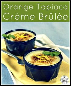 Mmm-mmm--mmm! Who knew creme brulee could be healthy AND delicious?! Heck yeah!