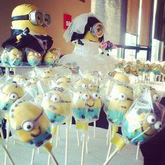 Minion wedding favors! #despicableme #diy