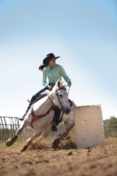 The one thing I wish I could do is get a barrel horse and a trailer and learn more about barrel racing. Thank goodness I know the basics. Cowgirl And Horse, My Horse, Horse Love, Horse Girl, Horse Riding, Horse Tack, Breyer Horses, Cowgirl Baby, Reining Horses